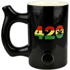 Pipa Taza 420 Rasta