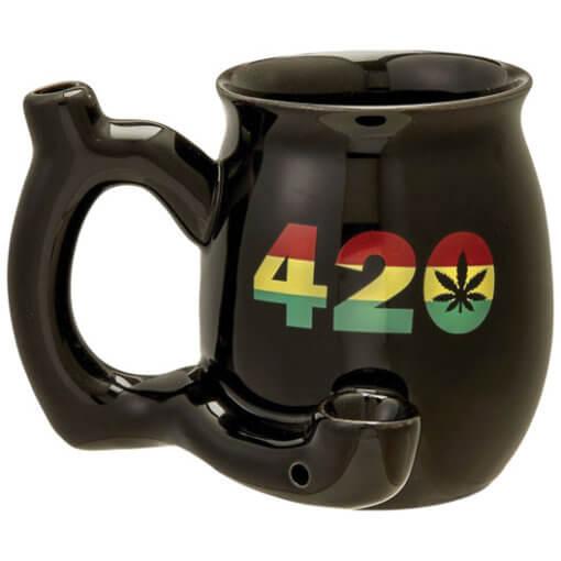 Pipa Taza 420 rasta circular
