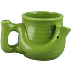 Pipa Taza Solo Verde