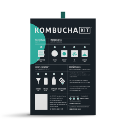 Kombucha Kit Contenido