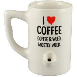 Pipa Taza I Love Coffee